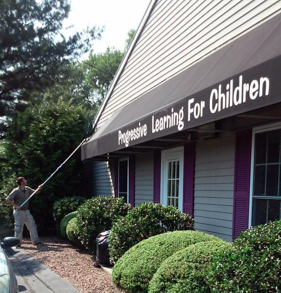 Commercial Window Cleaning, Home Window Cleaners, Awning